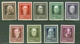 Austria 0506/514 * Charnela. 1937 - Ungebraucht