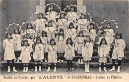 12 - AVEYRON  / Decazeville - 12561 - Société De Gymnastique L' Alerte - Section Des Fillettes - Decazeville
