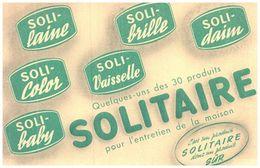 Pe S/Buvard Solitaire  (N= 1) - Wash & Clean