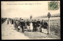 CHAMBREY (Moselle) Frontière Franco-Allemande Entre Chambrey Et Moncel - France