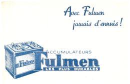 "A F/Buvard Batterie ""Fulmen""  (N= 1) - Automotive"