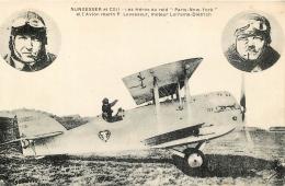 NUNGESSER ET COLI LES HEROS DU RAID PARIS NEW-YORK ET L'AVION MARIN P.  LEVASSEUR - Piloten