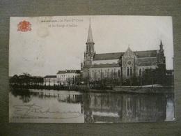 Carte Postale Grand Bazar Anspach Editeur -  N° 36 - Bruxelles - La Place St Croix Et Les Etangs D' Ixelles - Monuments, édifices