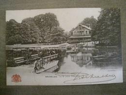 Carte Postale Grand Bazar Anspach Editeur -  N° 37 - Bruxelles - Lac & Châlet Robinson ( Brussel ) - Monuments, édifices