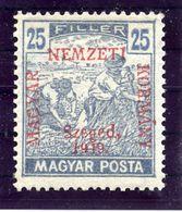 HUNGARY (SZEGED) 1919 Harvesters 25 F.  MNH / **.  Michel 12 - Szeged