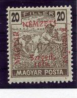 HUNGARY (SZEGED) 1919 Harvesters 20 F.  MNH / **.  Michel 11 - Szeged