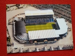 Manchester City Maine Road Stadium Cartolina Stadio Postcard Stadion AK Carte Postale Stade Estadio - Calcio