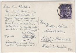 Krakau Floriantor Postcard Travelled 1943 To Cilli (Celje) B180410 - ....-1919 Provisional Government