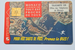 MF 27 --  TELECARTE   PUBLIQUE   MONACO - Monaco