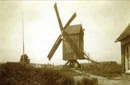 WERVIK (W.-Vl.) - Molen/moulin - De Gewezen Depinoy's Molen, Opgezeild En In Werking Ca. 1916 Kort Voor De Instorting - Wervik