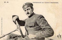 Philippe Tavenaux Sur Voiture Grégoire  -  Concurrent Grand Prix De L'ACF 1906  -  CPA - Grand Prix / F1