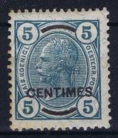 Austria Post Auf Kreta Mi Nr 12 MH/* Flz/ Charniere 1906 - Levante-Marken