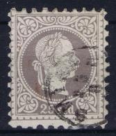 Austria Post Auf Kreta Mi Nr 6 II 1883 Used Obl. - Levante-Marken