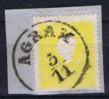 Osterreich:  Mi. 10 I Agram / Zagreb Cancel  Obl./Gestempelt/used Signed/ Signé/signiert/ Approvato P - 1850-1918 Imperium