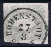 Osterreich Mi 23 Obl./Gestempelt/used  1861  Zeitungsmarke - 1850-1918 Imperium