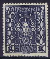 Osterreich Mi 404 BI Very Light Hinged  VLH 1922 - Ungebraucht