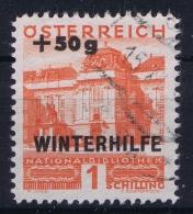 Osterreich Mi 566 Used Obl Winterhilfe  1933 - Used Stamps