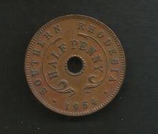 SOUTHERN RHODESIA - HALF PENNY (1954) ELIZABETH II - Rhodesia