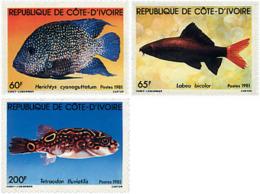 Ref. 28505 * NEW *  - IVORY COAST . 1981. FISHES. PECES - Ivory Coast (1960-...)