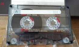 Audiocassetta TDK F 60 Usata - Cassette