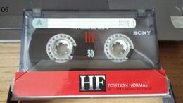 Audiocassetta SONY HF 50 Usata - Cassette