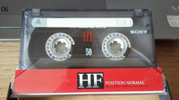 Audiocassetta SONY HF 50 Usata - Cassettes Audio