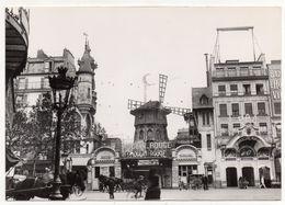 Paris 1900 - Place Blanche Le Moulin Rouge (Cabaret) - Markten, Pleinen