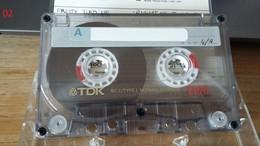Audiocassetta TDK D 90 Usata - Cassette