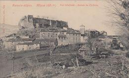 CPA 04.4 MISON Vue Générale- Ruines Du Château-maisons - Francia