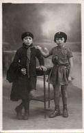 84Or  Carte Photo Scout Scoutisme Deux Enfants En Habits De Scouts - Scouting