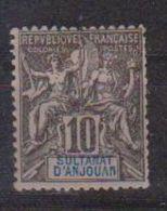 ANJOUAN            N°  YVERT    5  NEUF AVEC  CHARNIERES      ( Ch 01 ) - Anjouan (1892-1912)