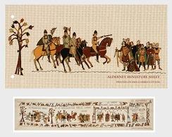 Alderney 2014 Presentation Pack - Final Panel Of The Bayeux Tapestry- (PP M/S) - Alderney