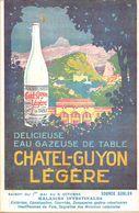63-CHATEL-GUYON- CARTE PUB - EAU GAZEUSE - Châtel-Guyon