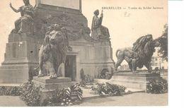 Bruxelles - CPA - Brussel - Tombe Du Soldat Inconnu - Avenues, Boulevards