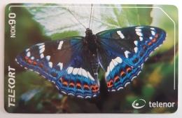 Norway  Butterfly  N  209 - Norway