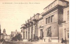Bruxelles - CPA - Brussel - Palais Des Beaux-Arts - Rue De La Régence - Lanen, Boulevards