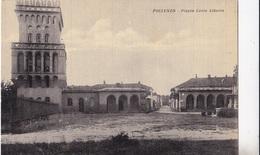 POLLENZO - PIAZZA CARLO ALBERTO  AUTENTICA 100% - Cuneo