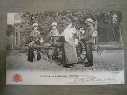 Carte Postale Grand Bazar Anspach Editeur -  N° 97 - Environs De Bruxelles - Laitières - Petits Métiers