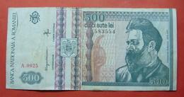 ROMANIA 500 LEI 1992 - Roumanie