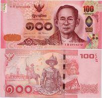THAILAND       100 Baht       P-120      ND (2017)        UNC  [ Sign. 84 ] - Tailandia