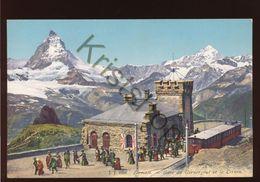 Zermatt - Gare Du Gornergrat Et La Cervin  [FG 008 - Non Classés