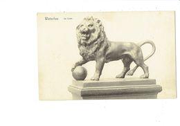 Cpa - WATERLOO - LE LION - Sculpture - Serie 11 N°704 Nels - Lions