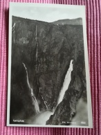 NORVEGE -VORINGFOSS - FOT. NORMANN - 9553 - CPA CARTE PHOTO VIERGE TBON ETAT - ENERET CARLNORMANN'S KUNTSFORLAG HAMAR - Norvège
