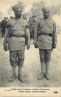 -guerre 1914-18 -ref M22- Armée Indienne - Inde - India - Indian Army -sikhs - Sikh  -soldats D Infanterie  - - Guerre 1914-18