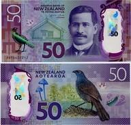 NEW ZEALAND       50 Dollars       P-194       (20)16       UNC - New Zealand