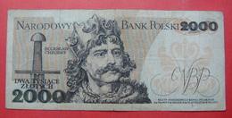 POLAND 2000 ZLOTYCH 1979 - Pologne