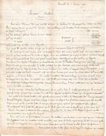 1827 - Marseille - MOUVEMENT Des COTONS Sur Notre Place - Récolte En Egypte, Marchés D'Angleterre - Documenti Storici