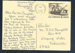 USA ENTIER REPIQUE TOURISME 1972 - Ganzsachen