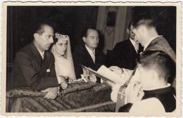 Couple At Church Wedding, Foto Piovesana (Prata Di Pordenone) B180410 - Anonymous Persons