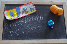 Kinder Barbapapa Dc 156 - MonoBlocks